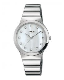 LORUS WATCHES - STAINLESS STEEL - QUARTZ - 31x36 mm - 3 ATM
