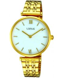 LORUS WATCHES - STAINLESS STEEL - QUARTZ - 32x32 mm - 3 ATM